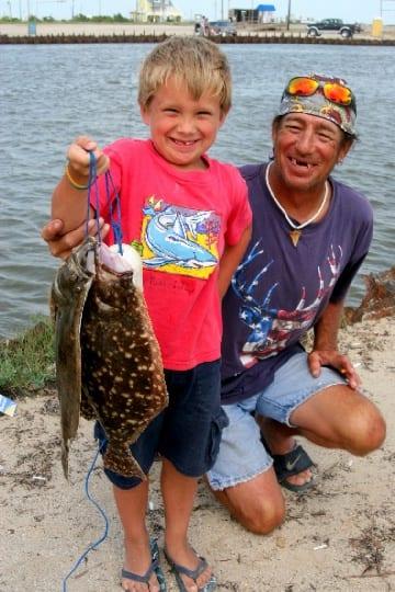 Grampa scott harper took grandson jaden scot to rollover for Rollover pass fishing report