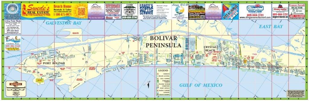 Crystal Beach Texas Map New Bolivar Maps are ready   Crystal Beach Local News, Get the