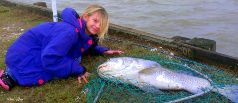 Imag0944 1 1 becky grey s grandaughter abbie bussinger for Rollover pass fishing report