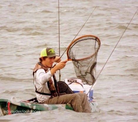 Kayak action
