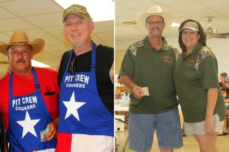 Second Place Fajitas (tie): Pit Crew Cookers and Swamp Kat Kookers