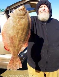 Al Jeirica of Houston took this nice 20inch flounder on a gulp