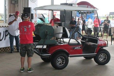Golf Cart Raffle Winner: Harold LeBlanc