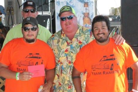Washers Tournament Winner: Team RAMROD