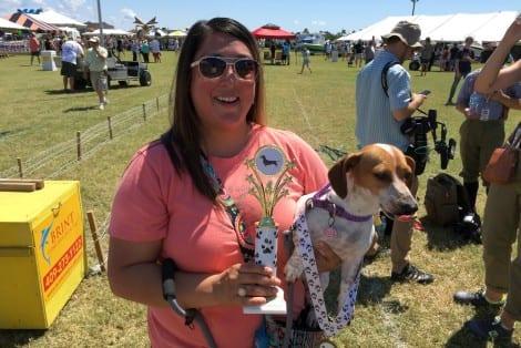 Wiener Dog Races Winner: Dottie DoLittle, owned by Laura Rojas