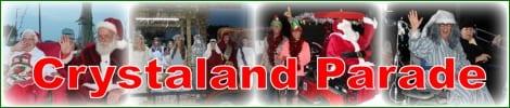 Crystaland Christmas Parade