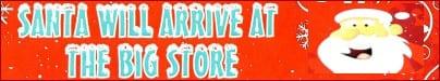 Santa comes to The Big Store