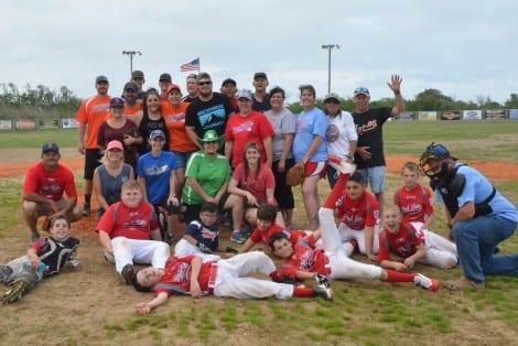 The Bolivar Alumni Team,  Bolivar Red Sox, and Umpire Extraordinaire Craig Ward