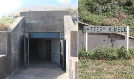 Battery Kimble at Fort Travis Seashore Park