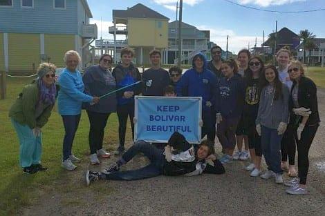 Church group helps Keep Bolivar Beautiful