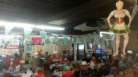 Oktoberfest and the 41st birthday of Crystal Beach's Fraternal Order of Eagles