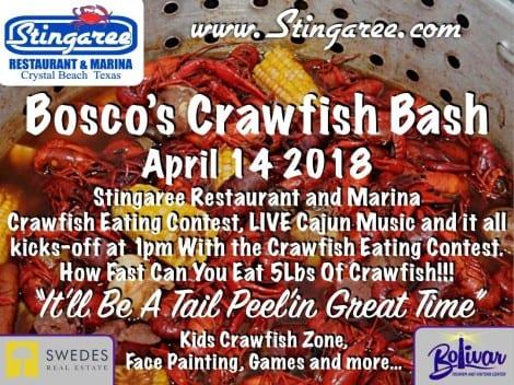 Bosco's Crawfish Bash