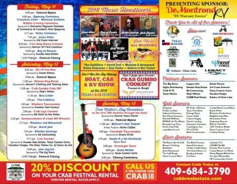 33rd Texas Crab Festival