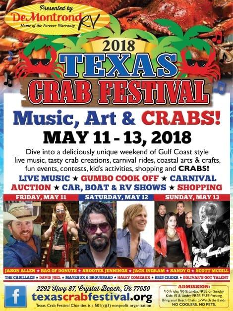 Music, Arts, & Crabs...Gulf Coast Style