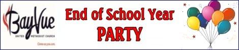 Bay Vue UMW End of School Party