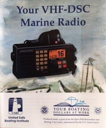 VHF-DSC Marine Radio Pamphlet