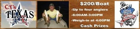 CT's Texas Slam Fishing Tournament