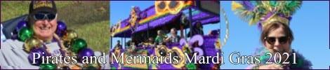 Pirates and Mermaids Mardi Gras 2021