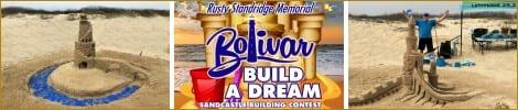 Build A Dream Sandcastle Contest